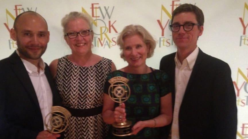 Storvinst för UR i nattens New York Festivals