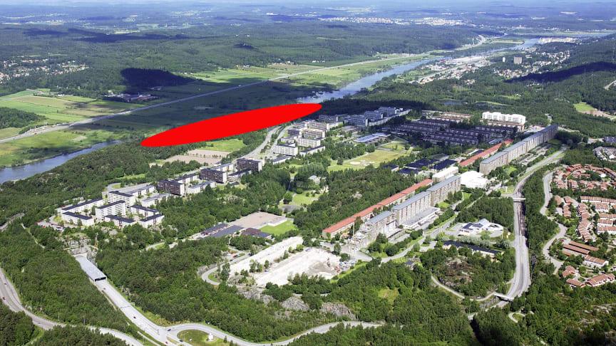 Klart för byggstart av Egnahemsbolagets 30 nya radhus i Gårdsten