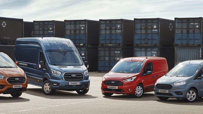 Ford præsenterer ny Transit-lineup på IAA i Hannover