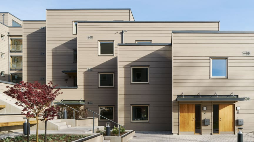 Strandsnäckan nominerad till kommunens byggnadspris.