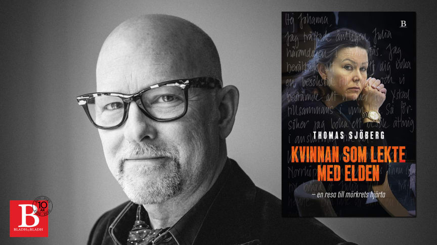 """En hisnande resa in i Johanna Möllers värld – """"Kvinnan som lekte med elden"""" av Thomas Sjöberg utkommer i september"""