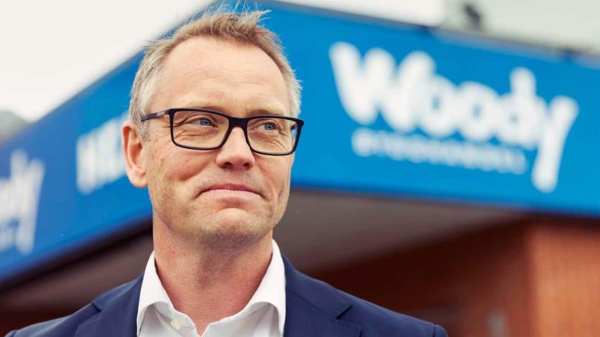 Fredrik Johanson, VD Woody Bygghandel AB.