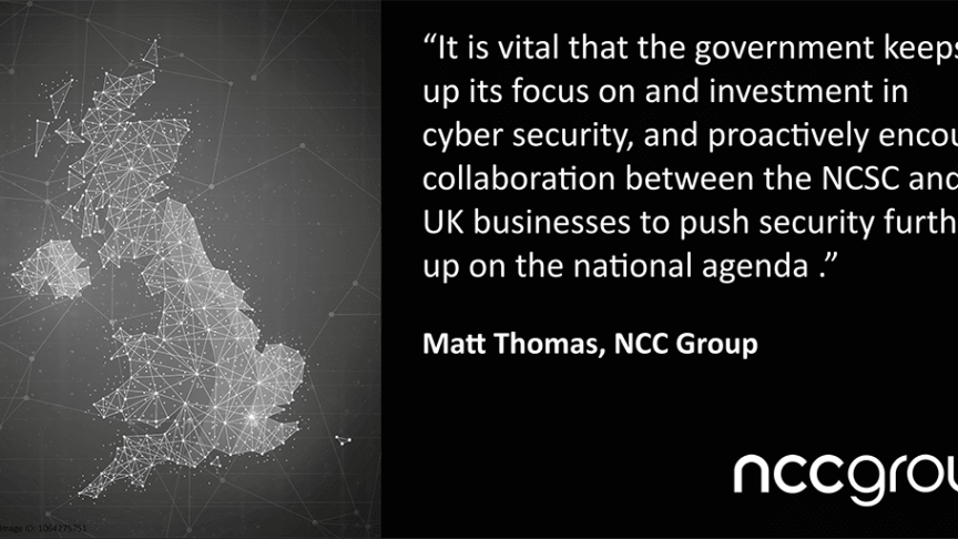 NCC Group encourages UK government to maintain investment in cyber security
