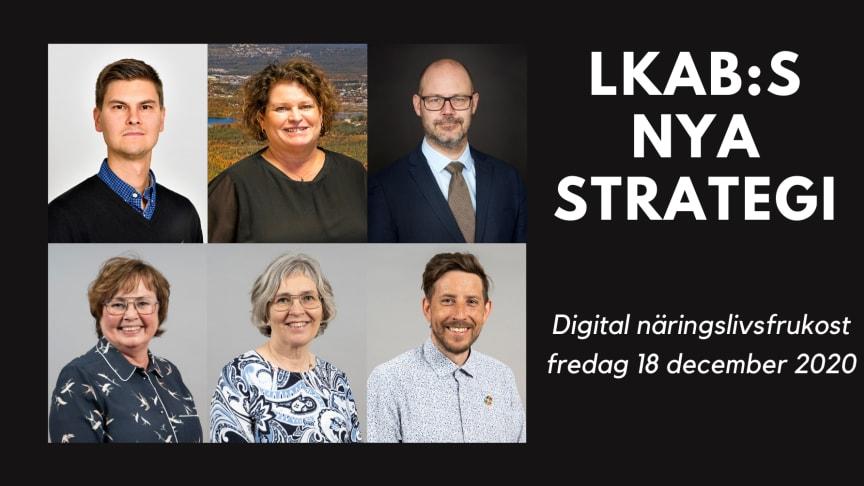 Näringslivsfrukost om LKAB:s nya strategi - uppdaterad gästlista