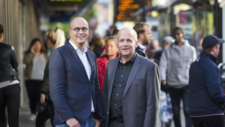 Johan Quist och Martin Fransson