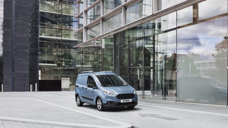 Forstærkning af Transit-familien: Ford introducerer nye udgaver af Transit Connect og Transit Courier