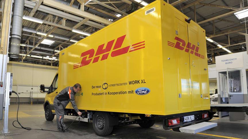 Ford starter produksjonen av helelektrisk StreetScooter WORK XL