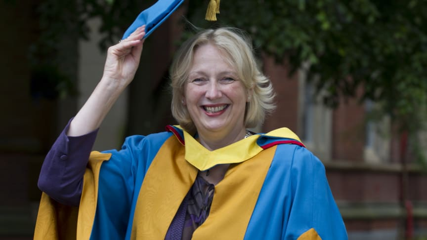 Virgin Money chief Jayne-Anne Gadhia receives Honorary Degree from Northumbria University