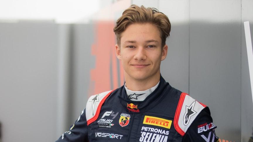 NENT Group viser Dennis Hauger i Formel 3