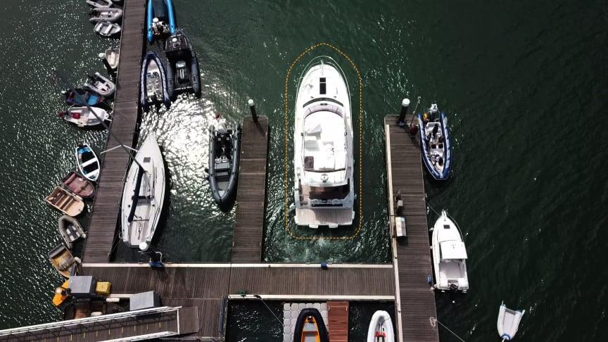 Prestige Yachts sarà il primo costruttore di imbarcazioni a mostrare il sistema Raymarine DockSense che automatizza e semplifica le operazioni di ormeggio
