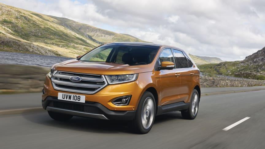 Ford etablerer seg i nytt SUV-segment med Nye Ford Edge