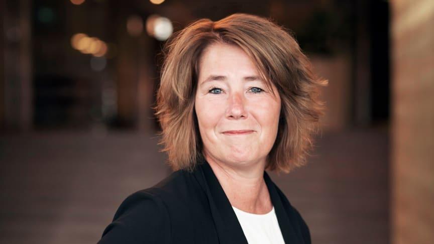 Johanna Frelin, vd för Riksbyggen. Foto: Evelina Carborn