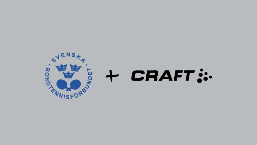 CRAFT Sportswear blir partner till svensk bordtennis