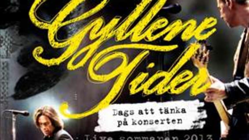 "Gyllene Tider släpper ny DVD: ""Dags att tänka på konserten"" - Live sommaren 2013"