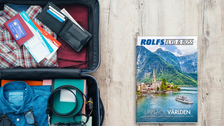 Rolfs Flyg & Buss nominerade till Bästa researrangör