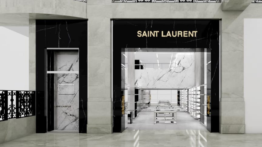 Saint Laurent på NK öppnar i början av augusti