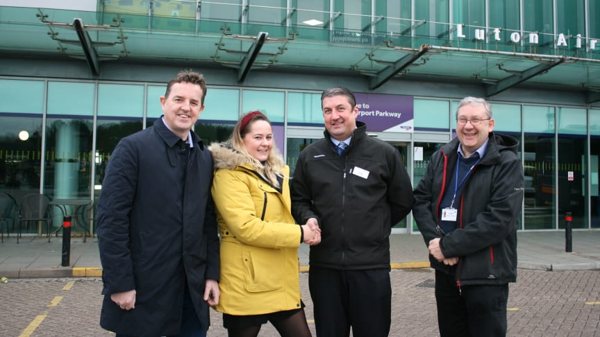 Autism Bedfordshire has become an official station partner of Thameslink's Luton Airport Parkway station - MORE IMAGES AVAILABLE TO DOWNLOAD BELOW