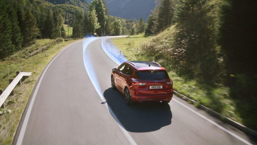 Nye Ford Kuga får ros av Euro NCAP for sine førerassistanseteknologier