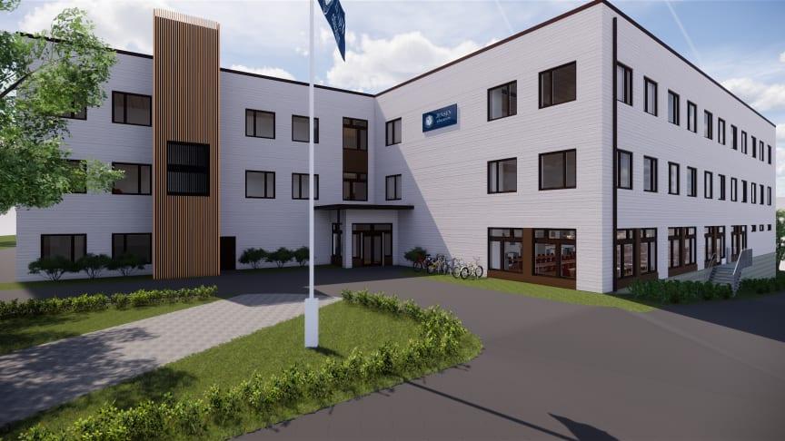 JENSEN startar Campus Kvarnsjön i Botkyrka kommun
