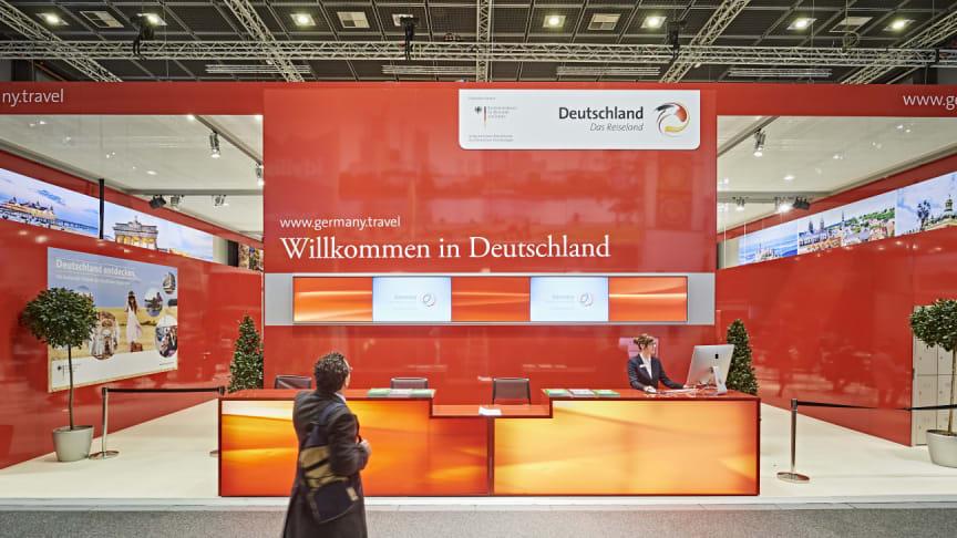 ITB 2018: Messepaviljong Tysklands Nasjonale turistkontor (DZT)