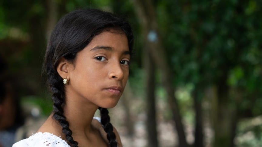 Bild: Luisa*, 12 år från Venezuela. Fotograf: Mats Lignell