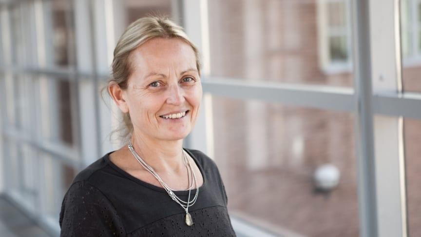 Anette Bolin, nybliven professor i socialt arbete.
