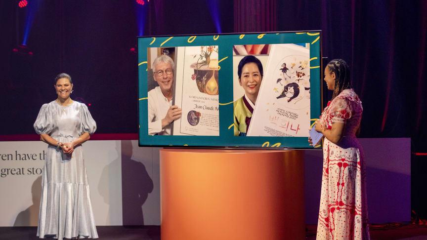 Prisutdelningen av Astrid Lindgren Memorial Award 2021