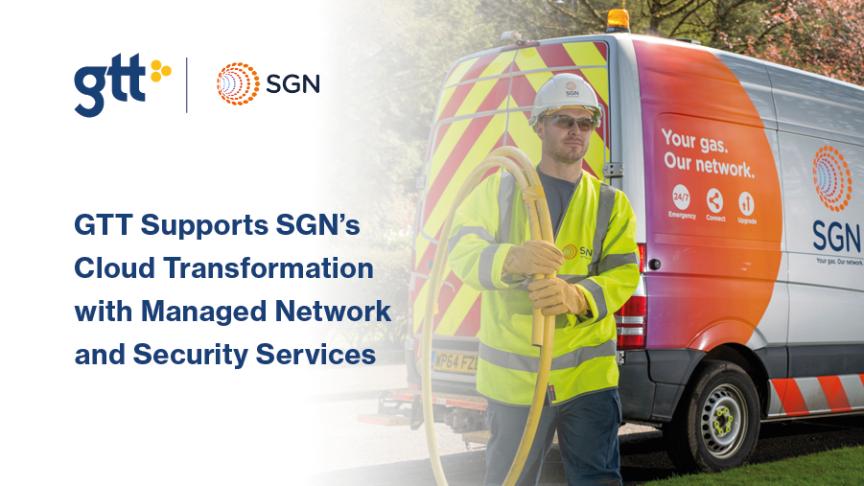 GTT stöder SGNs molntransformation med Managed Network och Säkerhetstjänster