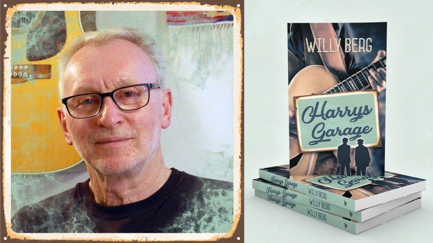 Willy Berg har skrivit en modern feelgood om att starta ett rockband efter pensionen.