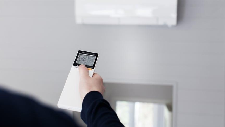 En luft-til-luft-varmepumpe kan brukes til å kjøle boligen med god samvittighet – og det koster deg lite.
