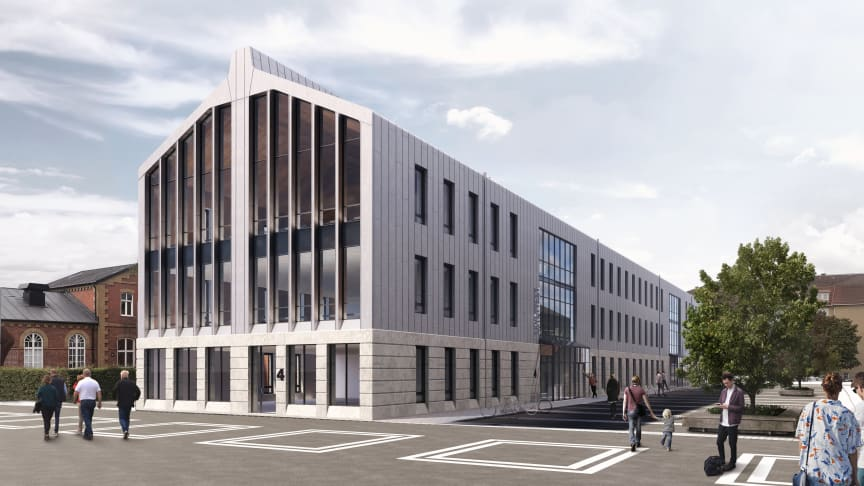 Idag skrev Region Skåne och Hässleholms kommun under ett hyresavtal gällande nya lokaler för Skånetrafikens anställda i Hässleholm.