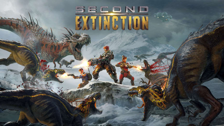Systemic Reaction's Co-op Dino Shooter Second Extinction Sells Over 50,000 Units in First Two Weeks on Steam Early Access