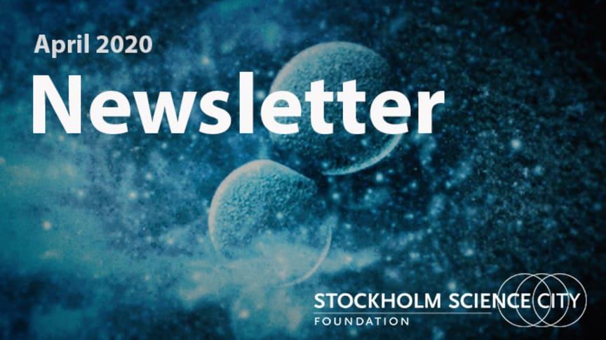 Stockholm Science City's newsletter April 2020