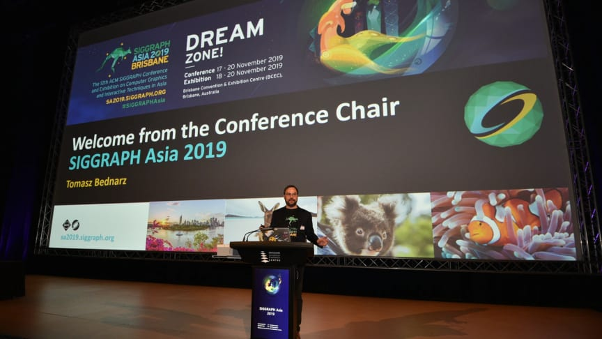 SIGGRAPH Asia 2019 Conference Chair, Tomasz Bednarz