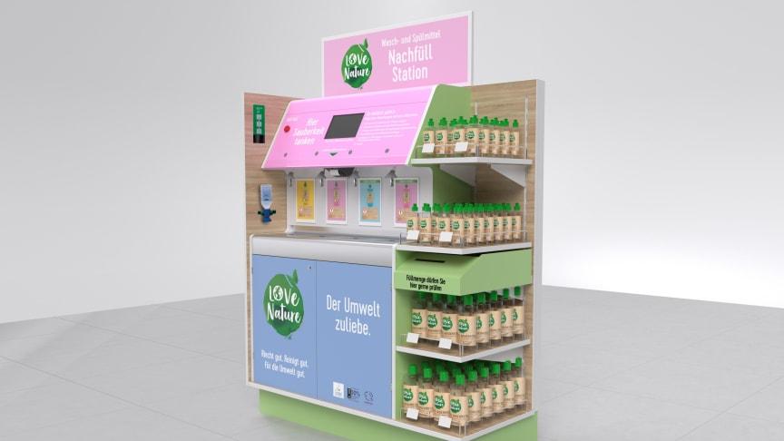 Nachfüllstation LOVE NATURE von Henkel