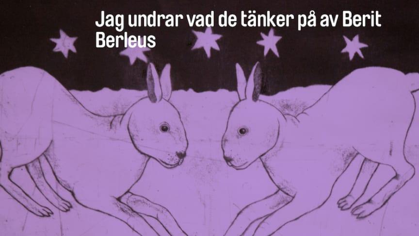 Turnerande konstutställning för barn på Lindesbergs stadsbibliotek