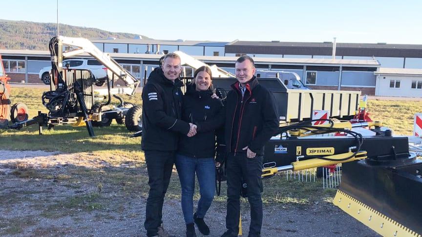 Henrik Johansson, Anna Johansson och Christian Eriksson.