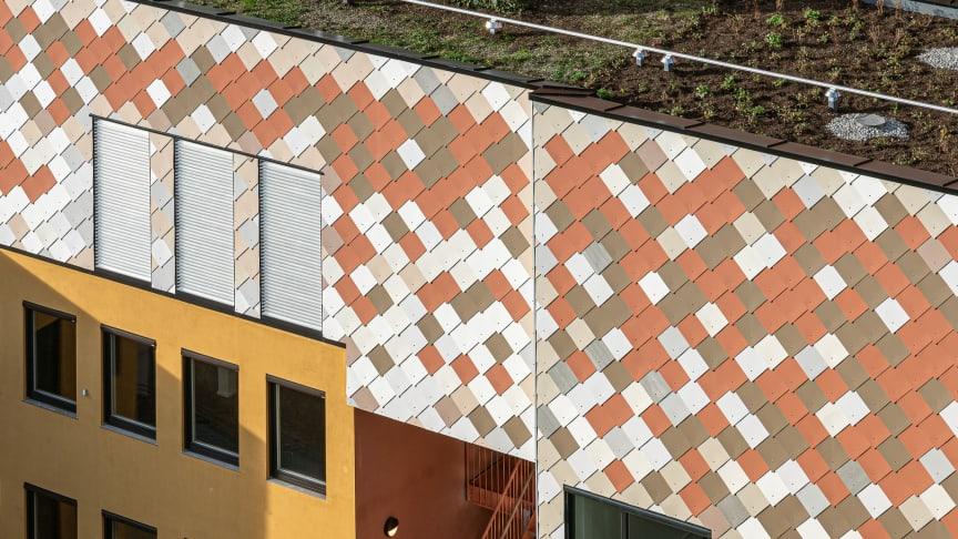 Månedens prosjekt brøyter vei for ombruk. Foro: Kyrre Sundal/MAD Arkitekter.