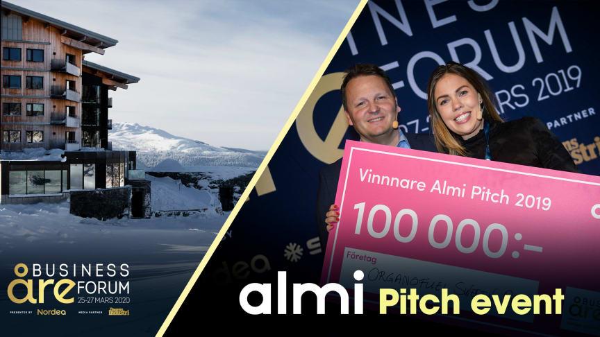 Här är de tio bolagen som tävlar i Almi Pitch 2020!