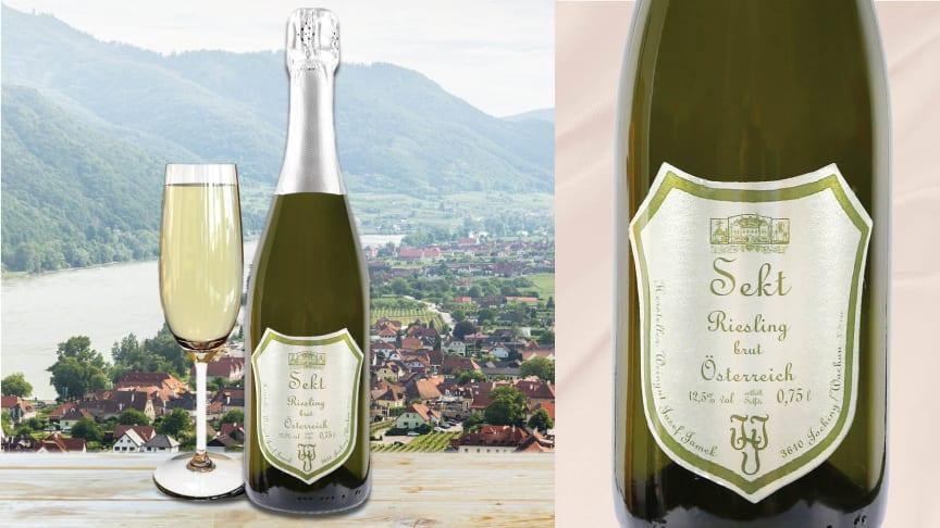 Den 4 maj kommer en spännande nyhet från Österrike: Jamek Sekt. Ett torrt, fruktigt och friskt mousserande vin gjort på finaste riesling.