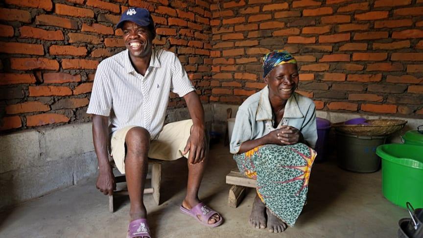 Joseph Mviri Pahlombe and Esnad Kenes