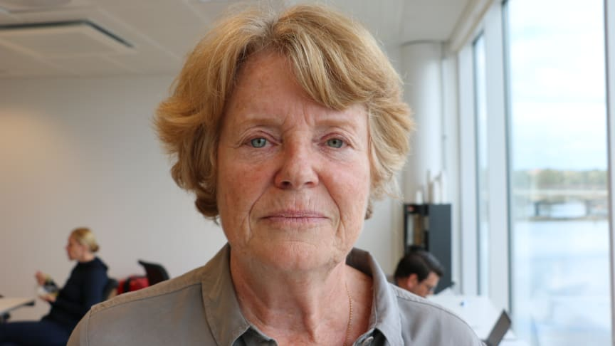 Rädda Barnens ordförande Lise Bergh