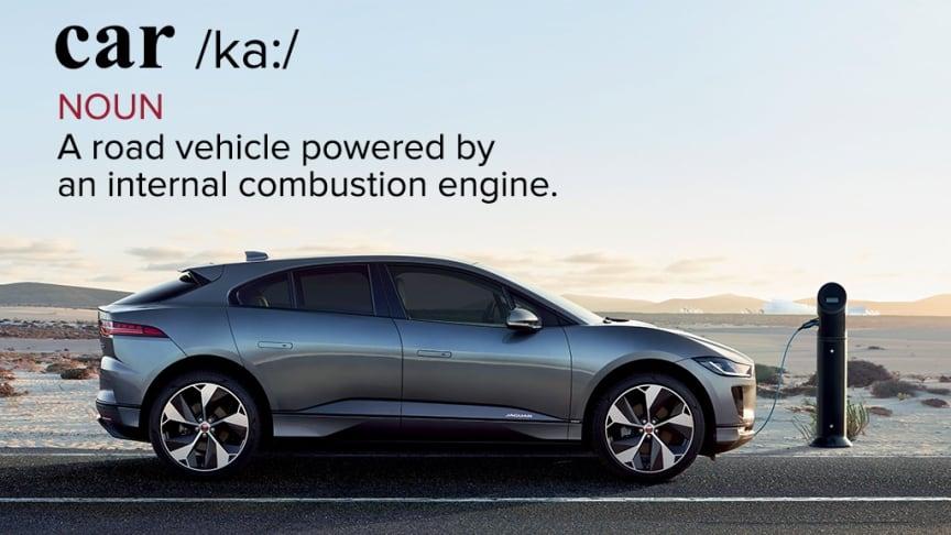 Jaguar vill ändra definitionen av ordet bil