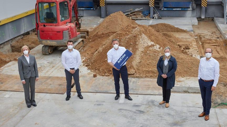 Lufthansa Cargo legt Grundstein für neues Kunstlager am Hub Frankfurt