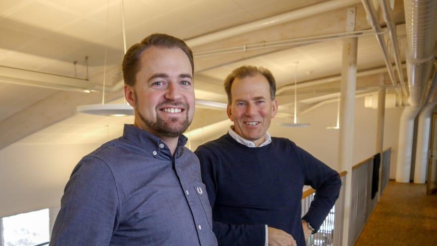 Mattias Bratt och Lennart Samsson