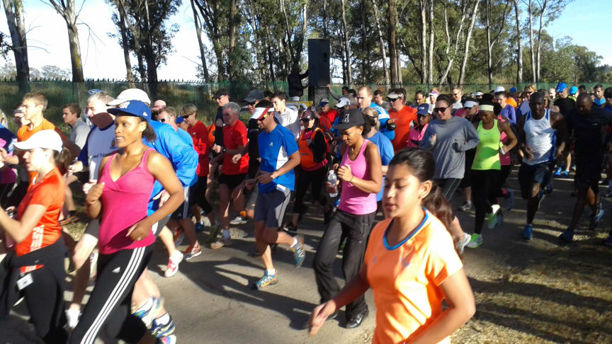 Get ready for the 702 Walk the Talk with parkrun!