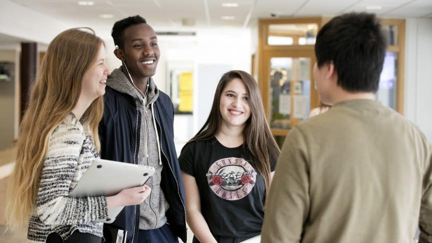 Elever på Carlforsskas introduktionsprogram
