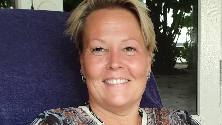 Maarit Cajstedt, regionssäljare på Team Tejbrant