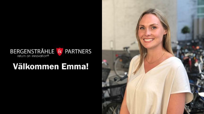 Emma Tibell är ny jurist hos Bergenstråhle & Partners