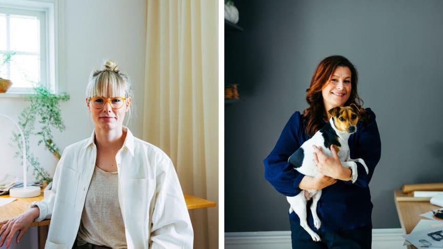 Svensk Fastighetsförmedling har gett designern Lisa Hilland och stylisten Mimmi Staaf uppdraget att skapa vackra och funktionella möbler för hundar och katter